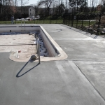 PSI Pool Deck with Concrete Services in Washington DC Metro Area