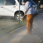 Curb and Street Painting Offered Through PSI's Commercial Power Washing in Washington DC Metro Area
