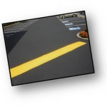 Speed Bump Concrete Painting Done by PSI Property Services in Washington DC Metro Areas