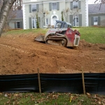 Runoff Abatement Done by PSI for Drainage and Erosion Control in Virginia & Washington DC Metro Areas