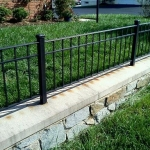 Stone Ledge After Commercial Power Washing Done in Washington DC Metro Areas