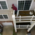 Deck and Siding Commercial Power Washing Done By PSI in Washington DC Metro Areas.