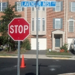 Street Signs & Stormwater Management with PSI Property Services in Virginia and Washington DC Metro Areas