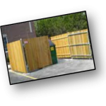Dumpster Fences- Stormwater Management with PSI Property Services in Virginia and Washington DC Metro Areas