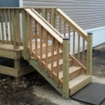 Wood Steps & Stormwater Management with PSI Property Services in Virginia and Washington DC Metro Areas