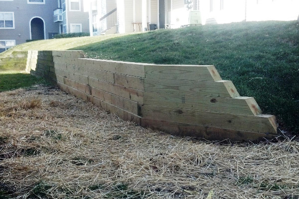 Retaining Wall- Drainage Systems & Stormwater Management- Virginia & Washington DC Metro Area
