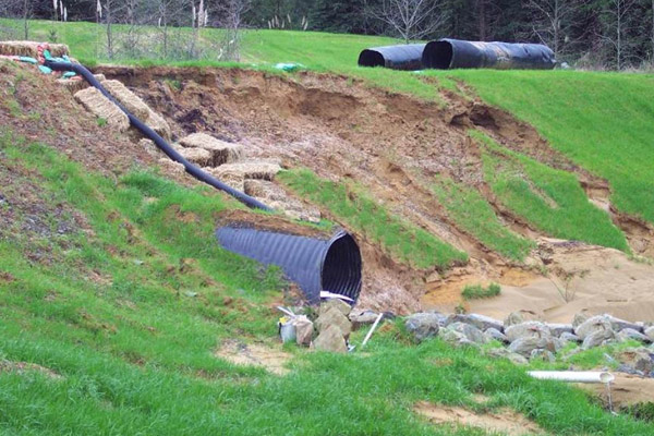 Drainage Pipe- Washington DC Metro and Virginia Area- Stormwater Management and Drainage Systems