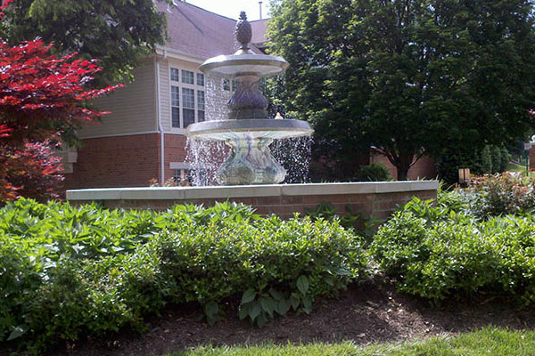 Fountain- Drainage and Commercial Power Washing Services in Washington DC Metro and Virginia Area