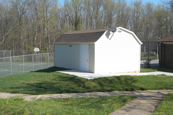 Shed- Commercial Power Washing and Concrete Services in Washington DC Metro Area and Virginia